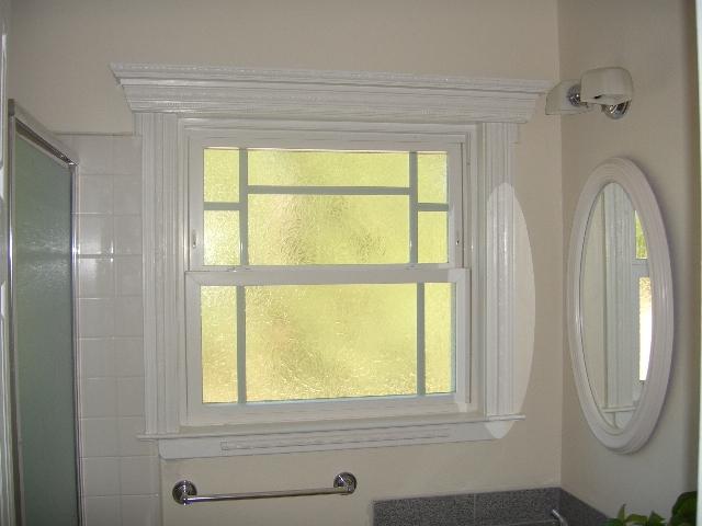 Bathroom Obscure Window
